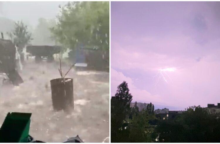 гроза новороссийск потоп анапа ливень град 2021